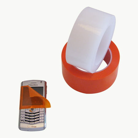 Patco 5560 Removable Protective Film Tape: 1 in. x 36 yds. (Transparent (Transparent Protective Film)