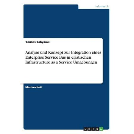 Analyse Und Konzept Zur Integration Eines Enterprise Service Bus In Elastischen Infrastructure As A Service Umgebungen