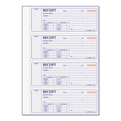 Rediform Receipt Book