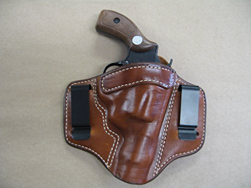 S/&W 60 442 IWB Leather In The Waistband ConcealCarry Holster TAN 36 640 642