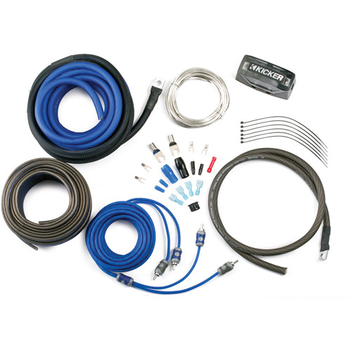 Kicker Complete 8-Gauge Amp Kit