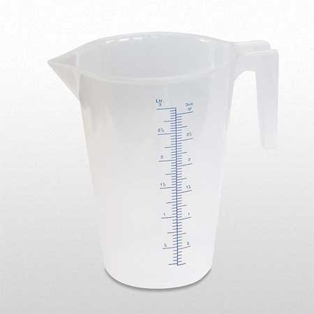 Funnel King 94150 Fixed Spout Measuring Container, 3 (Kind Measures)