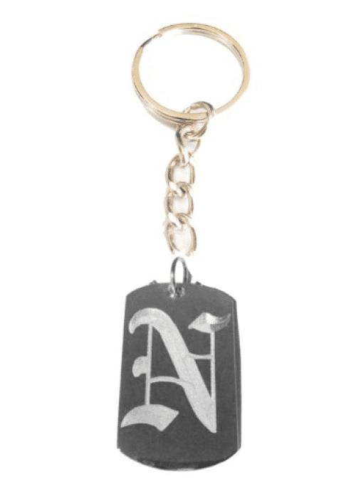 Novelty Fire Department Symbol Logo Metal Ring Key Chain Keychain