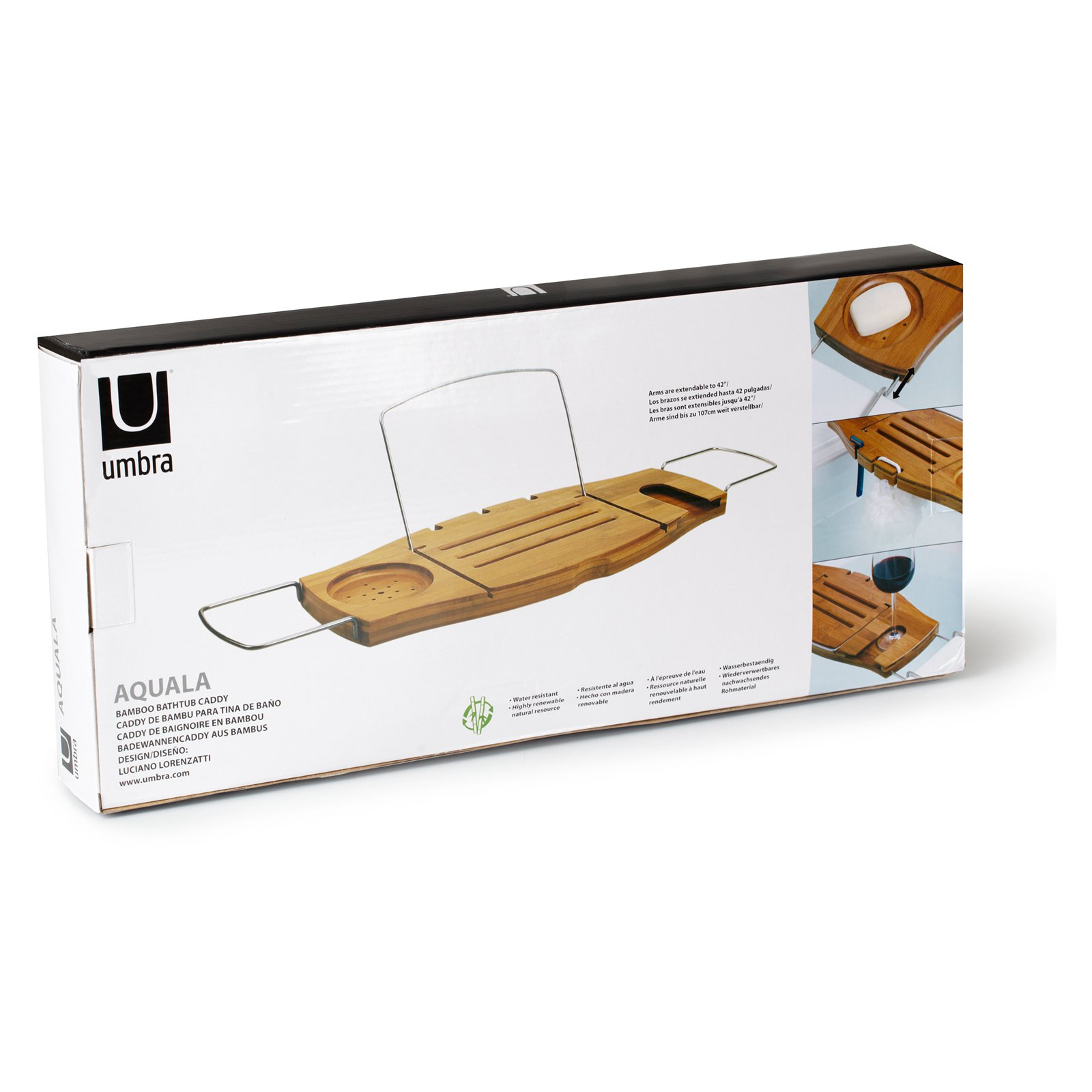 Umbra Aquala Bathtub Caddy - Walmart.com