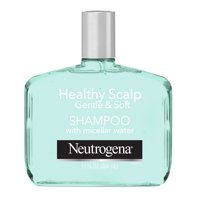 Neutrogena Lightweight Shampoo for Sensitive Scalp with Micellar Water, Healthy Scalp Gentle & Soft, Sulfate-Free Surfactants, Color-Safe, 12 fl oz