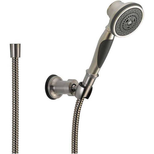 Delta Hand Shower Package Includes Hand Shower, Wall-Mount Holder, and Hose, Available in Various Colors