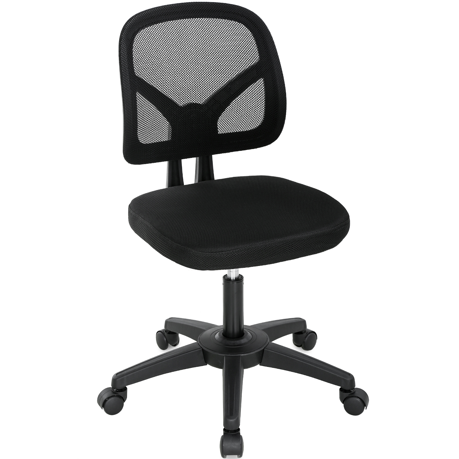 Home Office Chair Ergonomic Desk Chair Mesh Computer Chair With Lumbar Support Swivel Rolling Executive Adjustable Task Chair For Women Adults Black Walmart Com Walmart Com