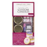 Creative You D.I.Y. Lavender Rose Custom Candles