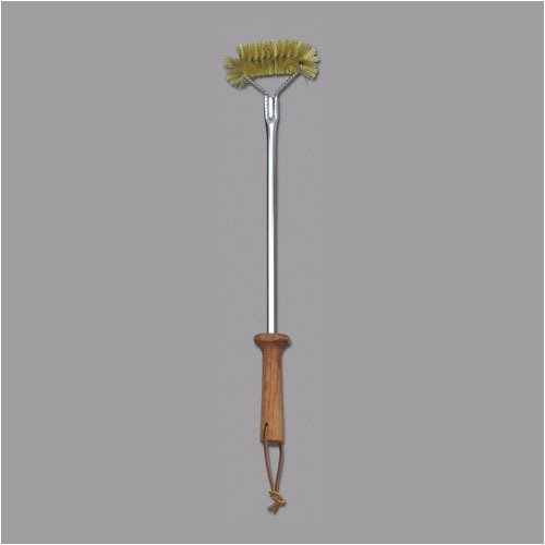 LamsonSharp Picnic Accessories and BBQ Tools 18'' Brass Grill Cleaning Brush