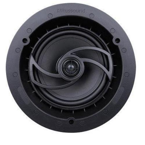 "Russound Acclaim 6.5"" Shallow Depth Wide Dispersion 2-Way In-Ceiling Speaker Pair"