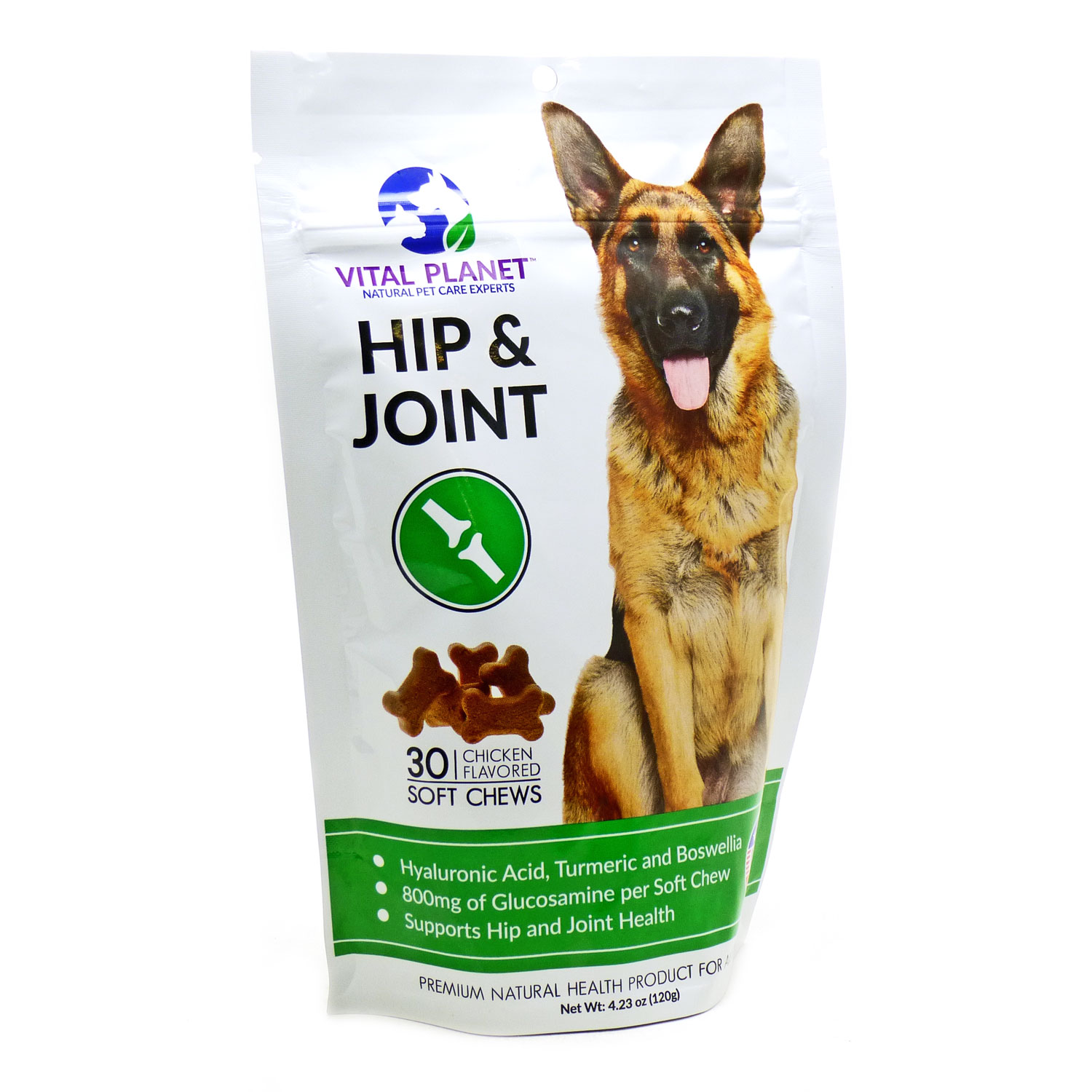 Hip & Joint Chicken Flavored  by vital Planet - 30 Chews