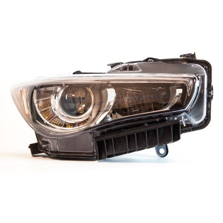 TYC 20-9505-00-1 Right Headlight Assembly for 2014-2015 Infiniti Q50 IN2503157