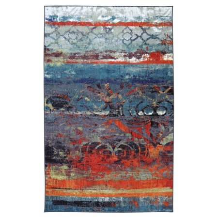 Mohawk Eroded Color Multi Rug Walmart Com