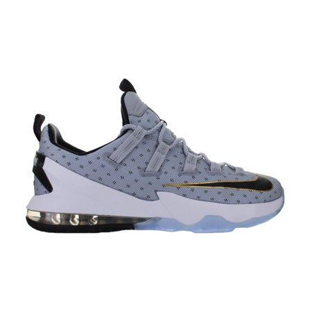 official photos 8b639 db460 Mens Nike Lebron 13 XIII Low Cool Grey Metallic Gold White Black 83192.  Average rating 0out of5stars, based on0reviewsWrite a review. Nike. This  button ...