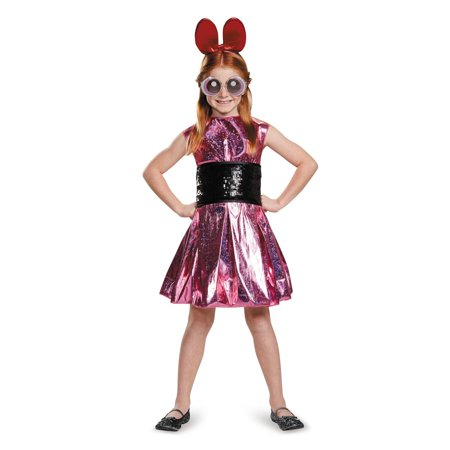 Powerpuff Girls Kids Costume (Powerpuff Girls Blossom Deluxe Child)