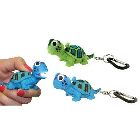Wildlight Animal Carabiner Flashlight Green Turtle Animal Keychain Lig
