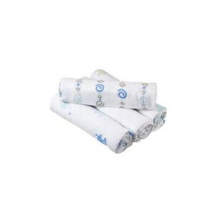 Walmart Swaddle Blankets Interesting Aden By Aden Anais Muslin Swaddle Blanket 60 Pack Walmart