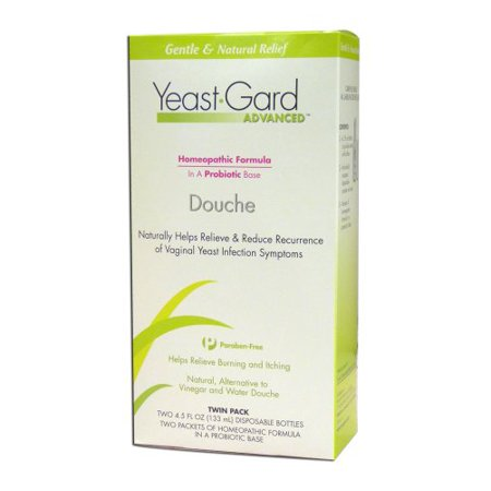 2 Pack Yeastgard Advanced Homeopathic Douche Womens Health 4 5 Oz Liquid Each
