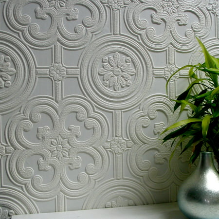 - Brewster Egon Paintable Textured Vinyl Wallpaper
