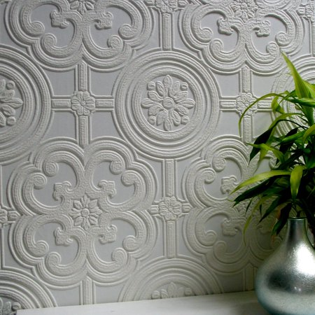 Brewster Egon Paintable Textured Vinyl Wallpaper