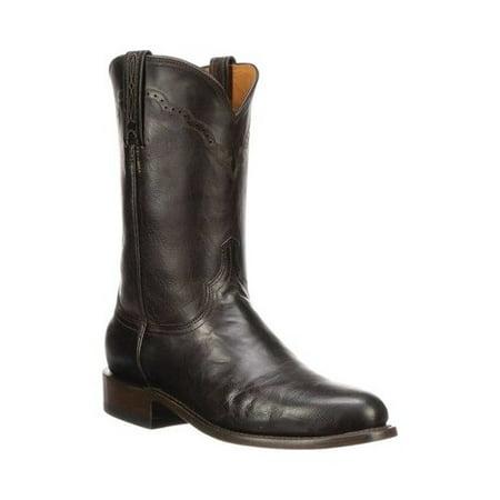 Men's Lucchese Bootmaker M1018.C2 Round Roper Toe 2 Heel