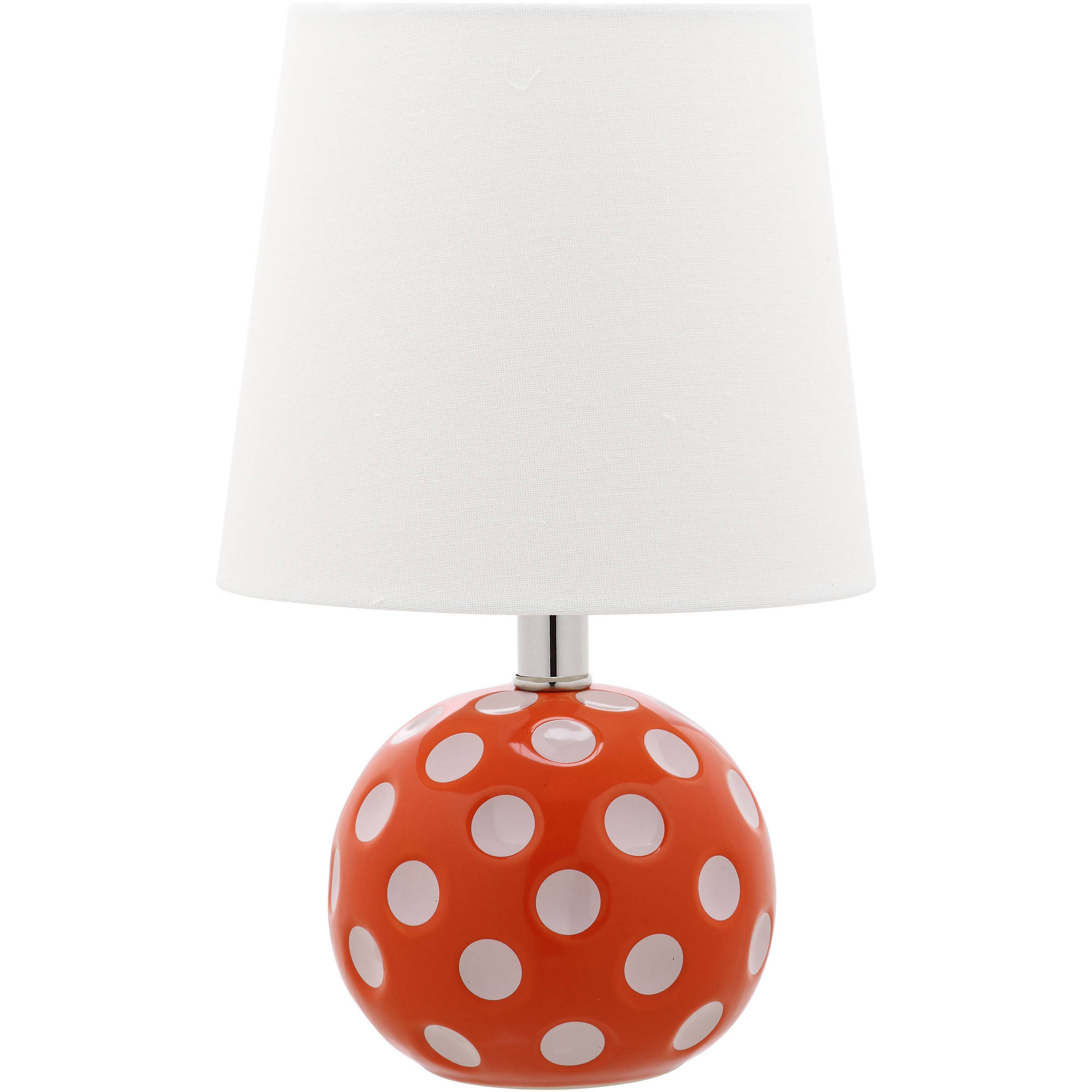 Safavieh Kids Polka Dot Circle Mini Table Lamp with CFL Bulb, Multiple Colors by Safavieh