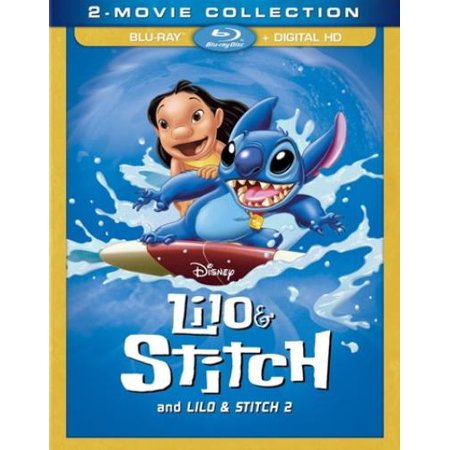 Walt Disney Lilo Stitch (Lilo & Stitch and Lilo & Stitch 2 (2 Movie Collection) (Blu-ray + Digital)