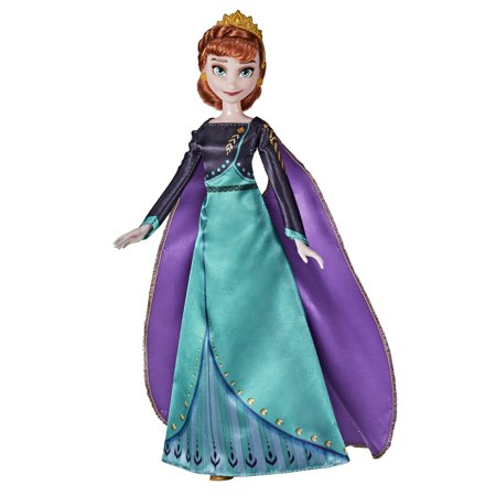 Disney's Frozen 2 Queen Anna Fashion Doll, Includes Outfit and Accessories
