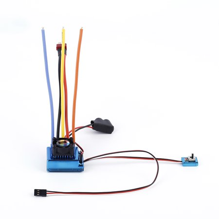 120A Esc Sensored Brushless Speed Controller For 1 8 1 10 Car Truck Crawler Car Vehicle Used 2017 Top Sale