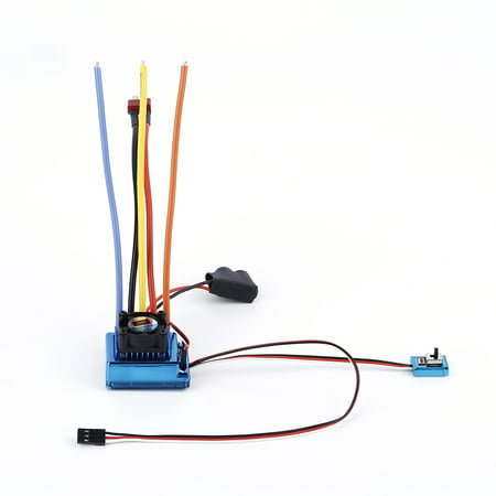 Hot 120A Esc Sensored Brushless Speed Controller For 1 8 1 10 Car Truck Crawler Car Vehicle Used 2017 Top Sale Sensored Brushless Speed Controller Truck Crawler