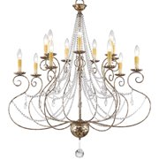 Livex Lighting Isabella 14 Light Foyer Chandelier