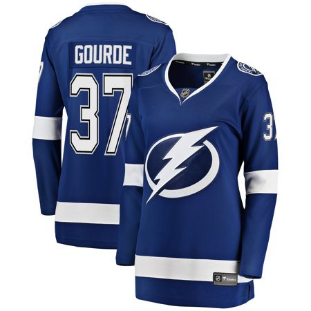 Yanni Gourde Tampa Bay Lightning Fanatics Branded Women s Breakaway Player  Jersey - Blue 1c7e31f61