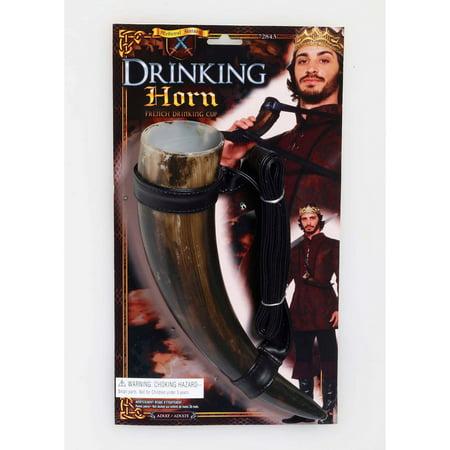 Halloween Medieval Fantasy Drinking Horn - Halloween Blood Drink