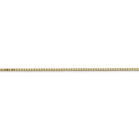 14K Yellow Gold 1.1mm Box Chain - image 1 of 4