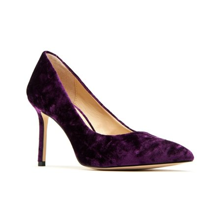 Katy Perry The Sissy Crushed Velvet Purple Pump, Size 5 M