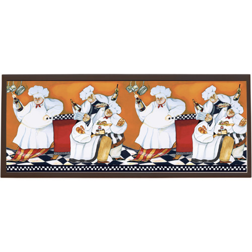 Illumalite Designs Chefs A Cookin Framed Painting Print on Plaque