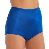 Women's Shadowline 17032 Hidden Elastic Nylon Classic Brief Panty