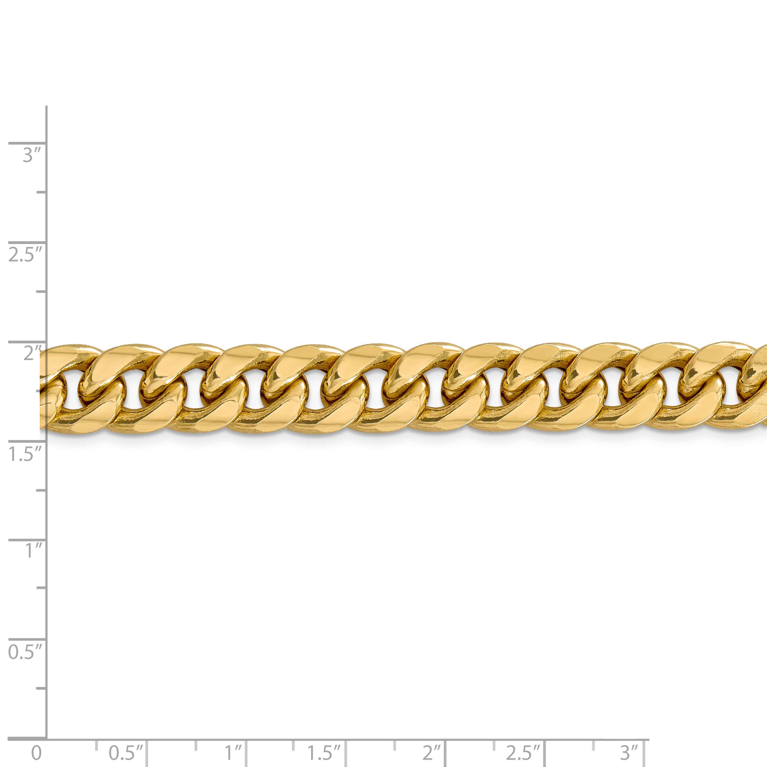 14k Yellow Gold 11mm Miami Cuban Chain Necklace 26 Inch Pendant Charm Curb Fine Jewelry Gifts For Women For Her - image 4 of 5