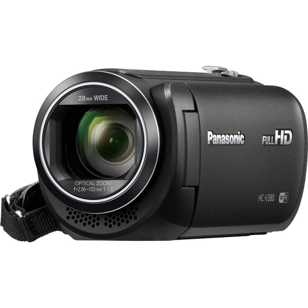 Panasonic HC-V380K Full HD Camcorder with Wi-Fi Multi Scene Twin Camera Black by Panasonic