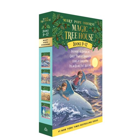 Magic Tree House Volumes 9-12 Boxed Set (Magic Tree House Movie)