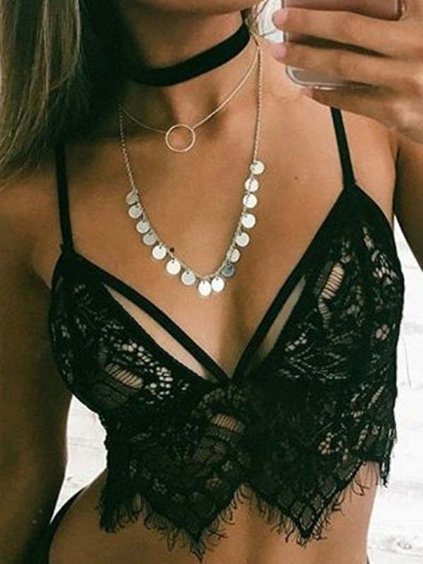 d276f47594027 Oumy women floral sheer lace bralette bustier crop tops jpeg 450x450 Sheer  lace crop bralette
