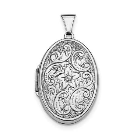 925 Sterling Silver Oval Photo Pendant Charm Locket Chain Necklace That Holds Pictures Gifts For Women For Her