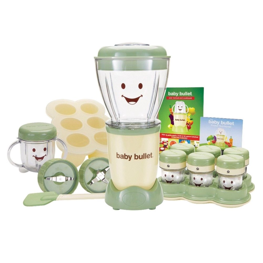 Baby Bullet Baby Food Maker Set, 20 Piece