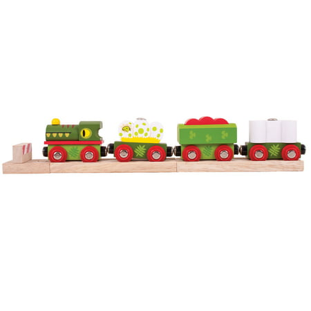 Big Engine (Big Jigs - Dinosaur Railway Engine & Train)
