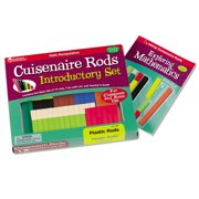 Learning Resources Cuisenaire Rods Intro Set,Plastic
