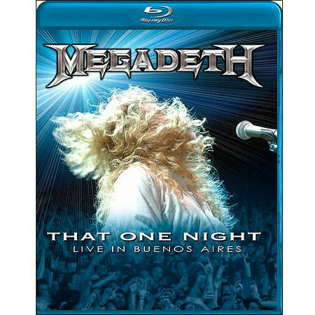 Megadeth: That One Night - Live In Buenos Aires (Blu-ray) (Widescreen)