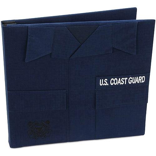 """U.S. Coast Guard Keepsake Postbound Album, 12"""" x 12"""""""