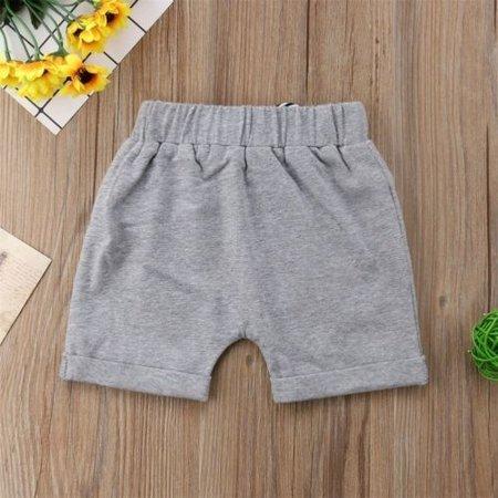 Toddler Infant Kids Baby Boy Girl Casual Shorts Pants  Harem Jogger Trouser - image 2 de 5