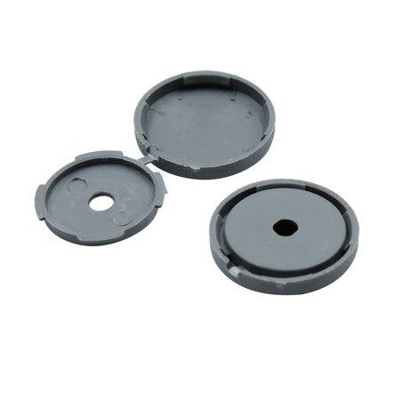 8 Pcs Gray 5mm Dia Nut Screw Bolt Cap Covers Interior Decoration for Car - image 3 of 4