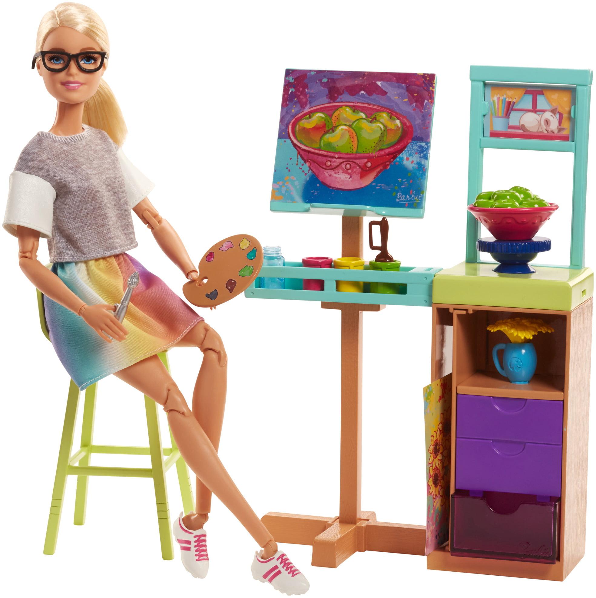 Barbie Careers Art Studio Playset